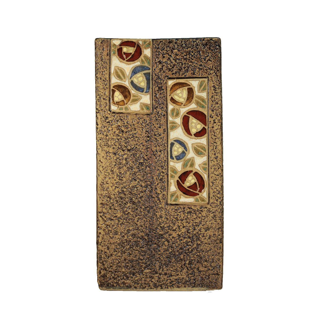 OOAKForHome Khaki Rectangular Vase - One of a Kind for Home