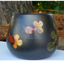 OOAKForHome Goldfish Black Vase - One of a Kind for Home