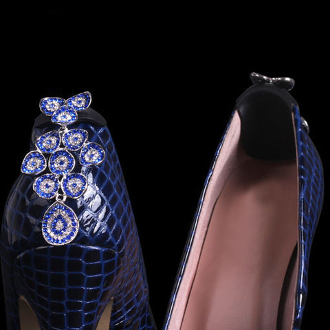Rhinestone and Crystal Shoe Clips