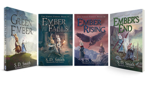 The Green Ember Series 4 Book Combo (Softcover)