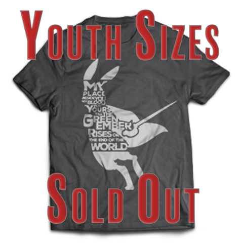 CLOSE OUT ITEM: The Oath T-shirt (Youth Sizes) - Limited Quantity