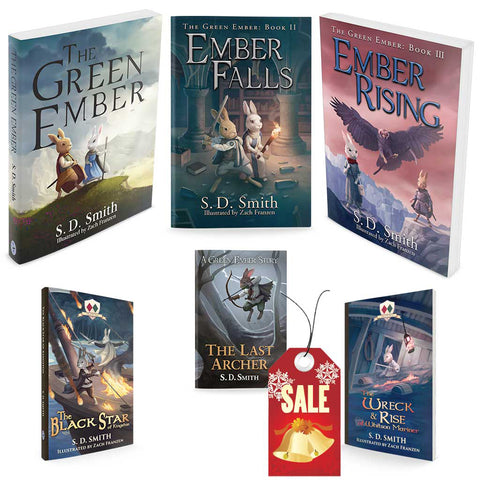 Combo - The Green Ember Series Softcover Bundle - *Does not include The First Fowler