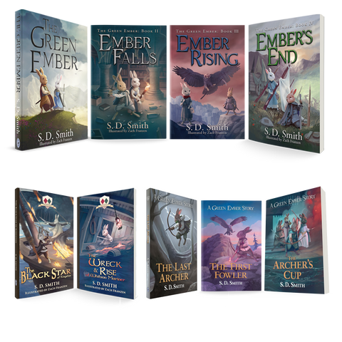 The Green Ember Series All Books Bundle (Softcover)