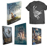 The Green Ember Series Soft Cover Combo + Oath T-shirt