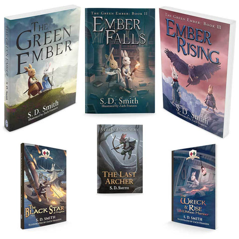Combo - The Green Ember Series Softcover - All Six Currently-Available Green Ember Books