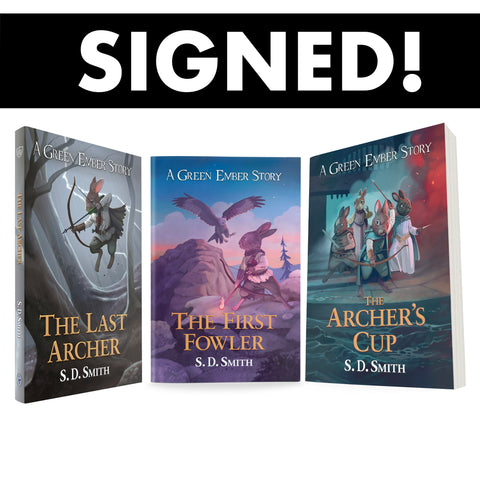 Green Ember Archer Series (The Last Archer, The First Fowler, The Archer's Cup) All 3 Books SIGNED