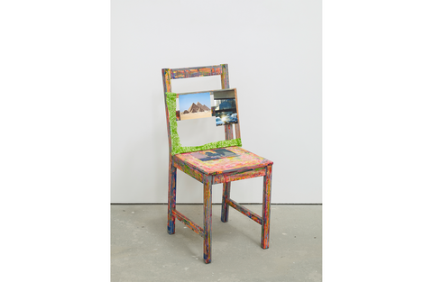 Self Portrait as a Chair, 2018