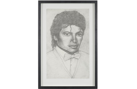 Michael Jackson, 1985/2011 FRAMED Work