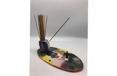 Ceramic Incense Decks