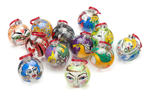 Hand-painted Bauble