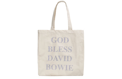 God Bless David Bowie Shopper