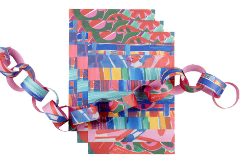 John Booth paper chain set