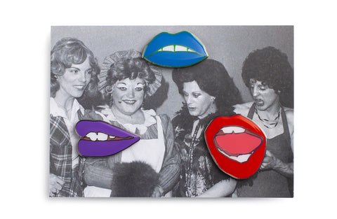 Enamel Lip pin set
