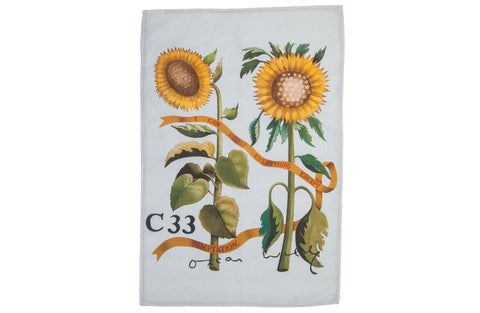 'The Aesthetic Movement' Linen Tea Towel