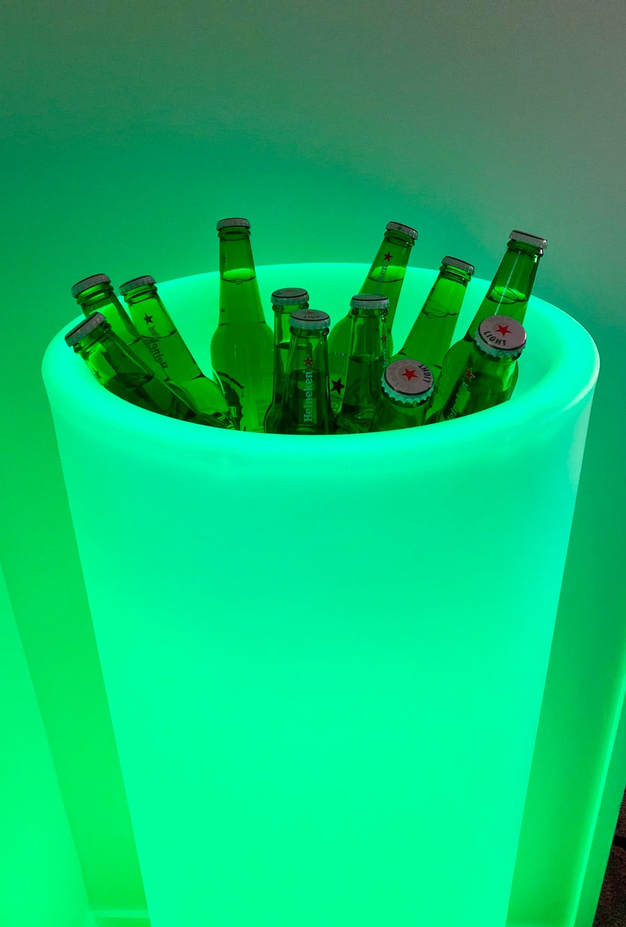 LED Tall Pot - HIRE