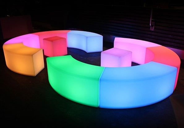 LED Curved Seating - HIRE