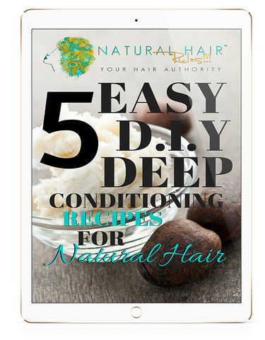 5 EASY D.I.Y. Deep Conditioning Recipes for Natural Hair