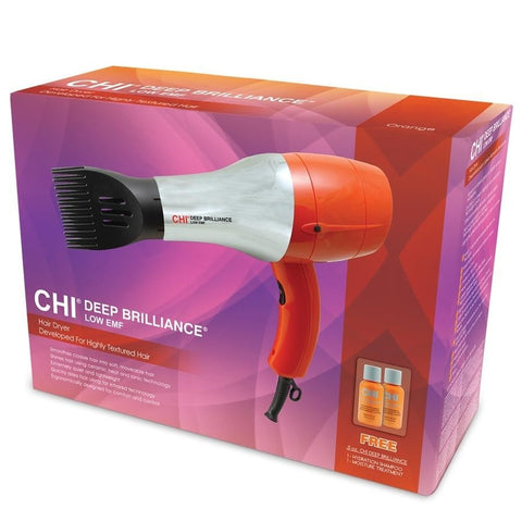 Chi Deep Brilliance Hair Dryer for Highly-Textured Hair