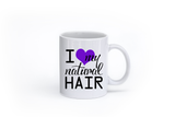 I Love My Natural Hair Mug