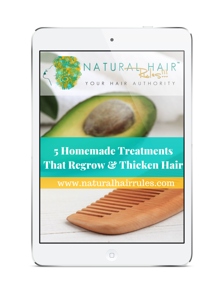 5 Homemade Treatments That Regrow & Thicken Hair