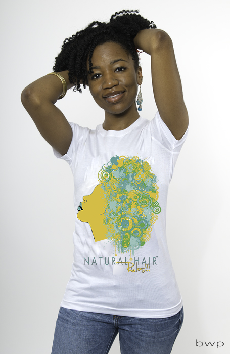 Natural Hair Rules!!! Signature Shirt