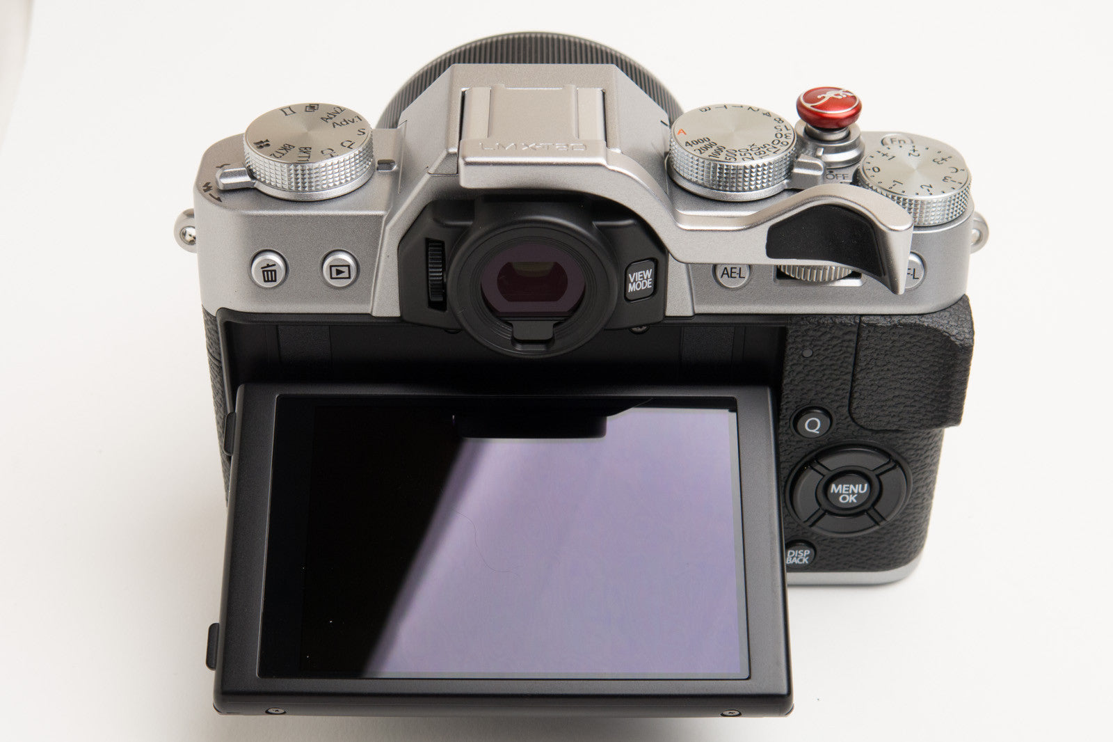 X-T20 thumbrest Silver