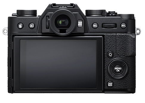 back view of X-T10