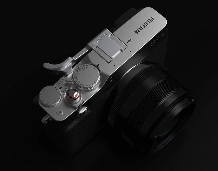 Lensmate thumbrest for X-E3 on camera