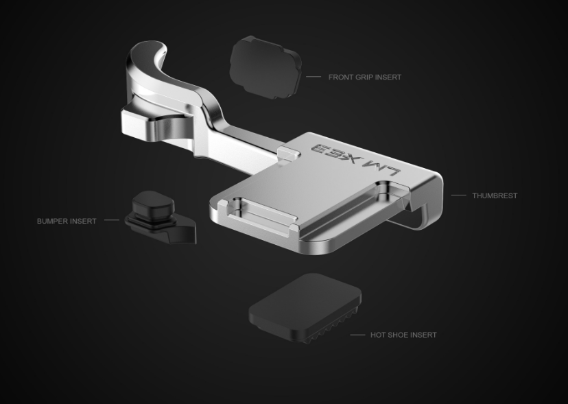 Lensmate Thumbrest for Fujifilm X-E3