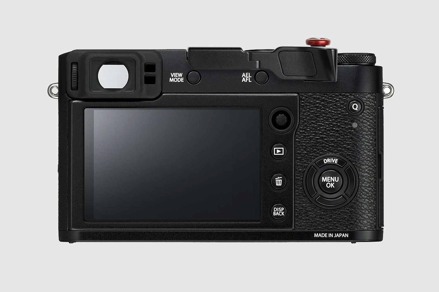 X100F Thumbrest black