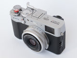 Fujifilm X100V Folding Thumbrest Silver by Lensmate - Sold Out - Next Shipment February 4th