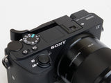 Sony a6500 (also fits a6400 & a6300) Folding Thumbrest - Black by Lensmate
