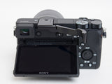 Sony a6500 (also fits a6300) Folding Thumbrest - Black by Lensmate