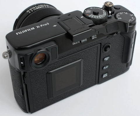 Fujifilm Xpro3 Folding Thumbrest - Black by Lensmate - Sold Out - Next shipment April 2nd