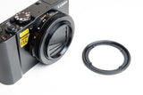 Panasonic Lumix DMC LX10/LX15 Quick Change Adapter Kit 52mm by Lensmate - Sold out - next shipment May 29th