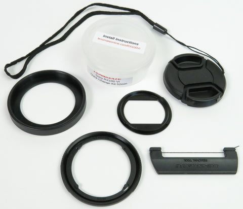 Sony RX100 VI Quick Change Filter Adapter Kit 52mm
