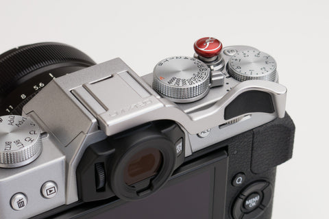 Fujifilm X-T20 (also fits X-T30 & X-T10) Thumbrest Silver by Lensmate