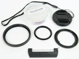 Sony RX100 VA (also fits V, IV, III, II &1) Quick Change Filter Adapter Kit 52mm by Lensmate