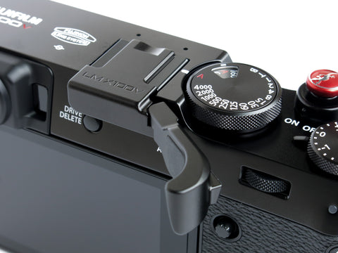 Fujifilm X100V Folding Thumbrest Black by Lensmate - Sold Out - Next shipment June 8th