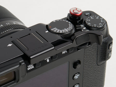 Fujifilm X-E3 Thumbrest by Lensmate - Black - discontinued no longer available.