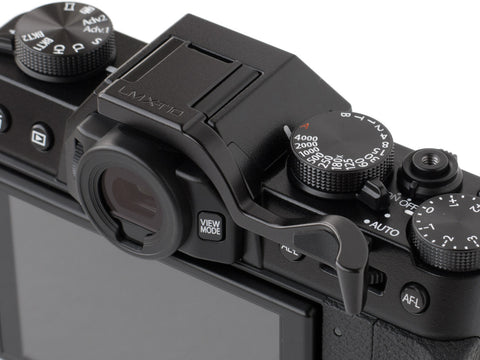 Fujifilm X-T10 Thumbrest Black by Lensmate