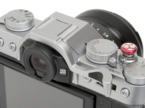 Fujifilm X-T10 (also fits X-T20) Thumbrest Silver by Lensmate