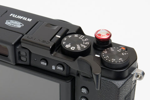 Fujifilm X30 Thumbrest Black by Lensmate