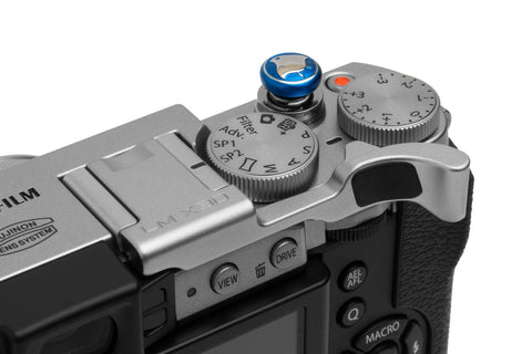 Fujifilm X30 Thumbrest Silver by Lensmate