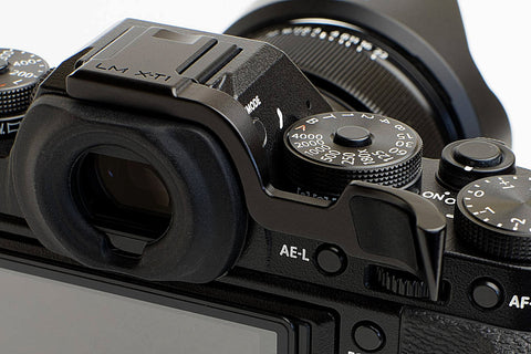 Fujifilm X-T1 (also fits X-T2) Thumbrest Black by Lensmate