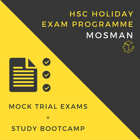 Holiday Exam Programme - July 2017 - Mosman (Online HSC CoWorks Members)