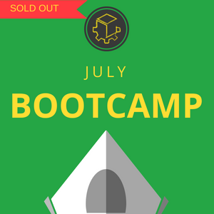 Study Bootcamp 2019 - JULY - Mosman - Week 1 (8-12 July)