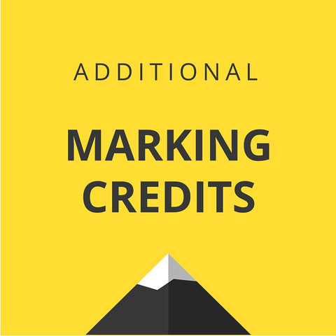 Additional HSC CoWorks Marking Credits