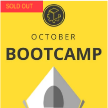 Study Bootcamp 2019 - OCT - Mosman - Week 1 (30 Sep - 4 Oct)