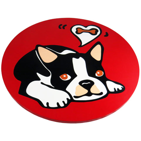 Boston Terrier Dog/Puppy Lazy Susan